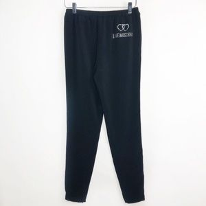 LOVE MOSCHINO Pull On Skinny Pants Black Size 4